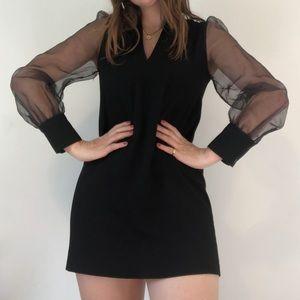 🍊2/$35🍊 ZARA Mesh Puff Sleeve Dress